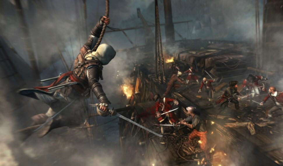 Assassin's Creed IV Black Flag Video Confronto