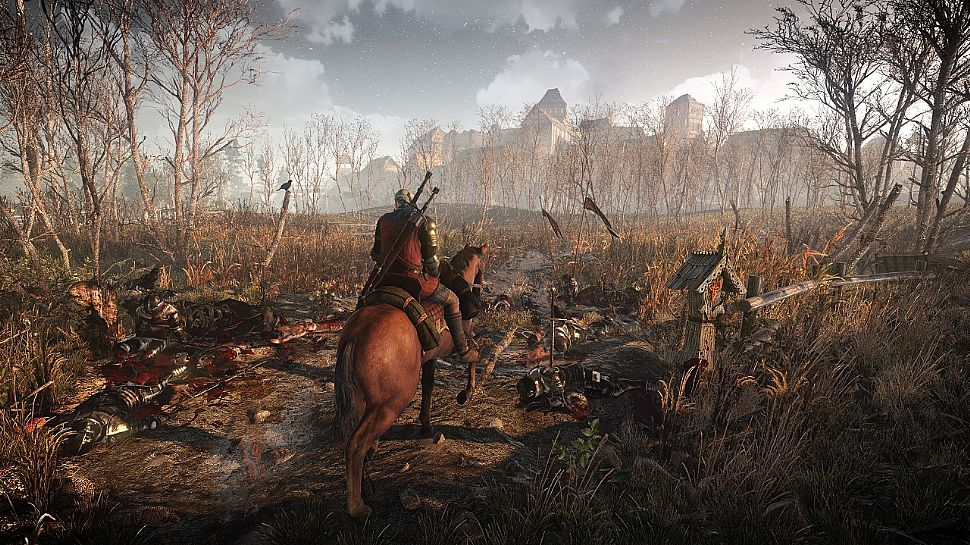 The Witcher 3 campo di battaglia