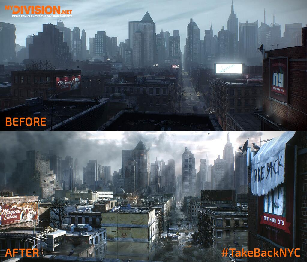 The Division - New York Before and Now
