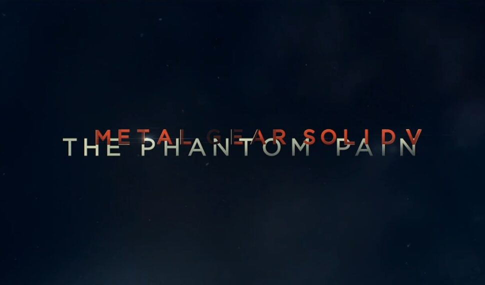Primi spot TV giapponesi per Metal Gear Solid V: The Phantom Pain