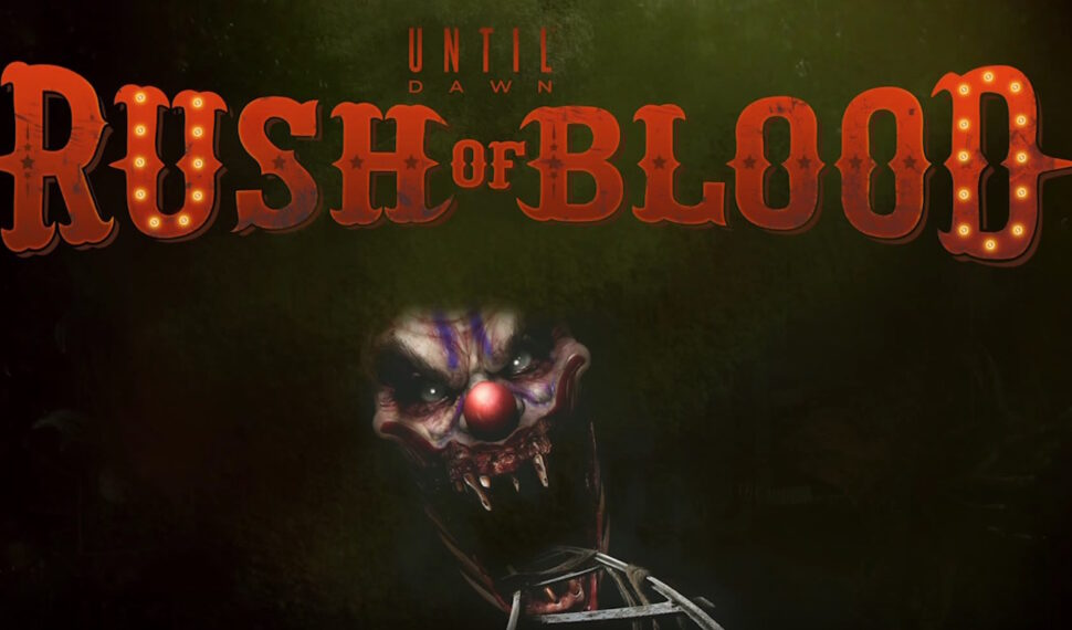 Until Dawn Rush of Blood: nuovo video gameplay