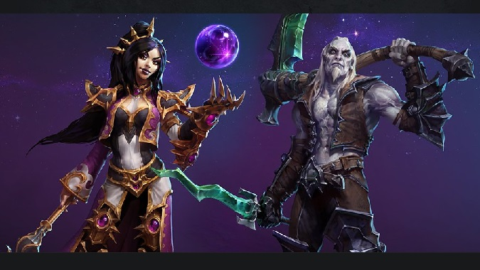 Heroes Of The Storm Xul and Ming
