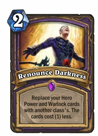 renounce darkness