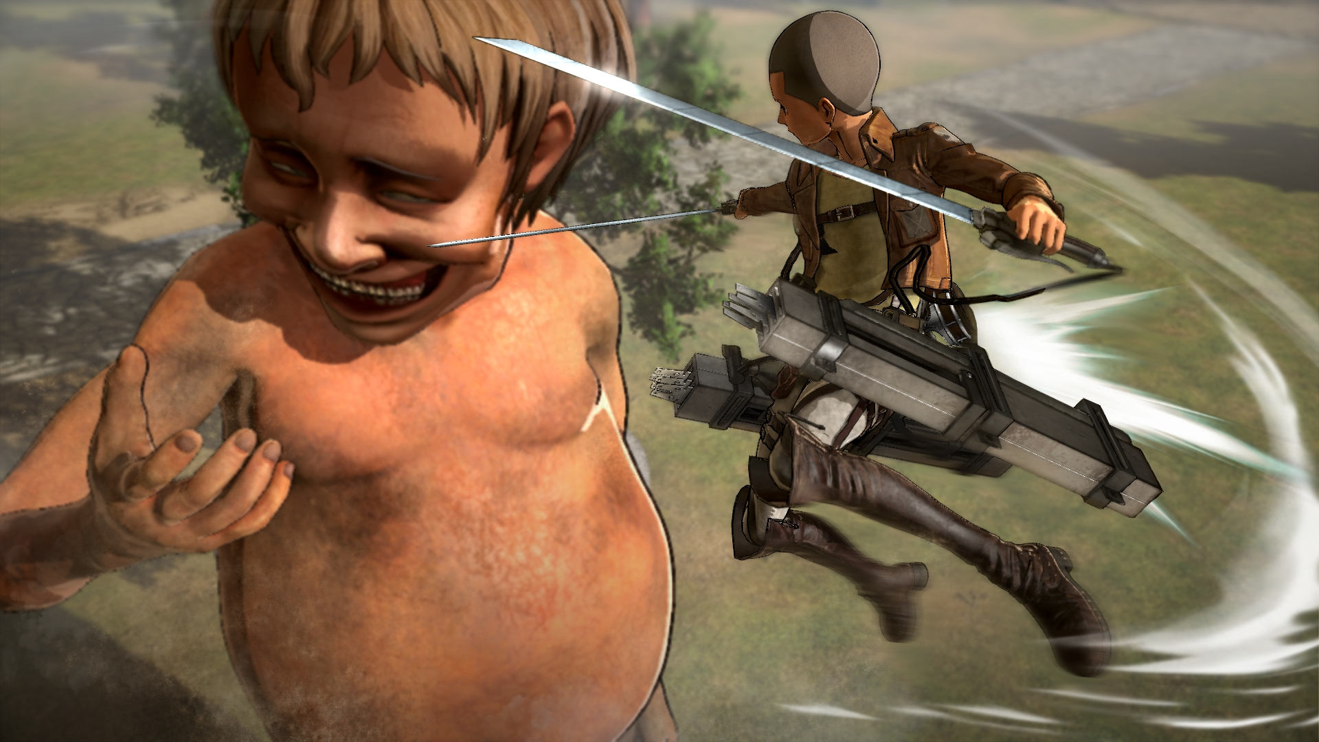 attack on titan wings of freedom 1