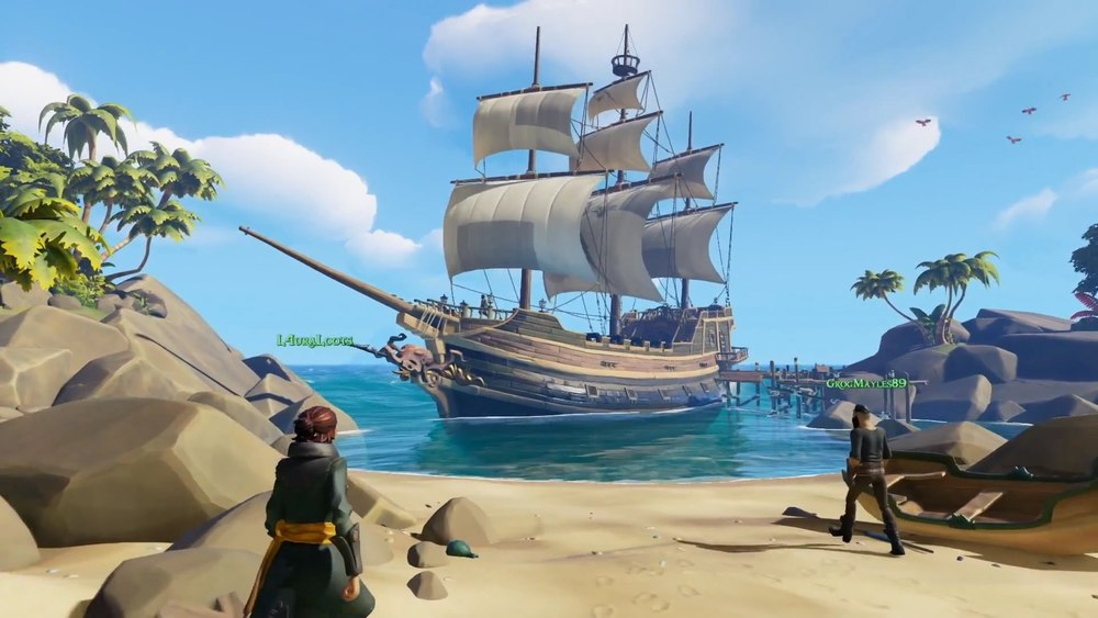 Sea of Thieves, al via la fase di Closed Beta