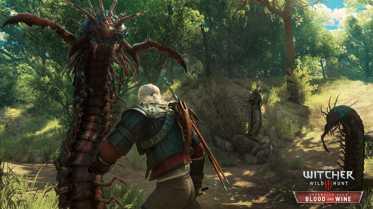 un video gameplay blood and win the witcher 3