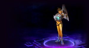 Tracer in Heroes of the Storm
