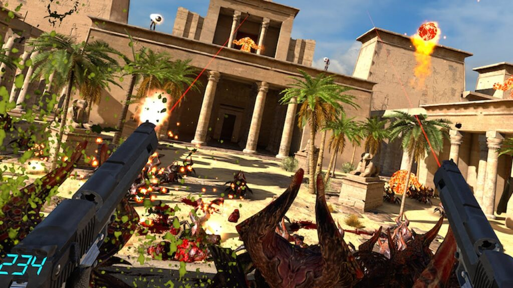 Serious Sam VR The Last Hope Screenshot