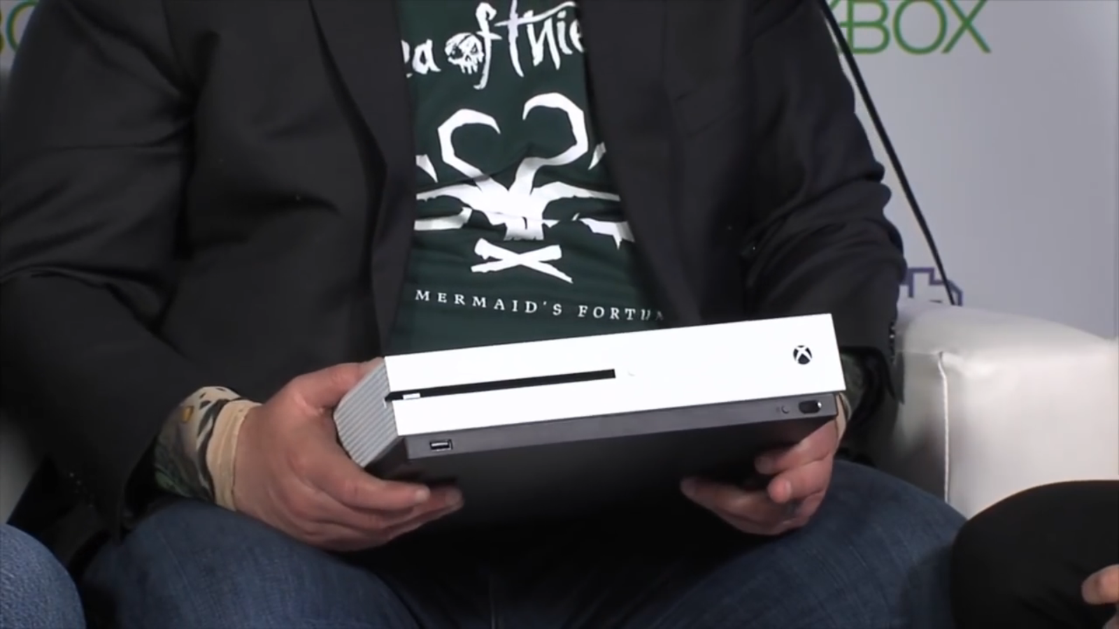 Xbox One S Aaron Greenberg