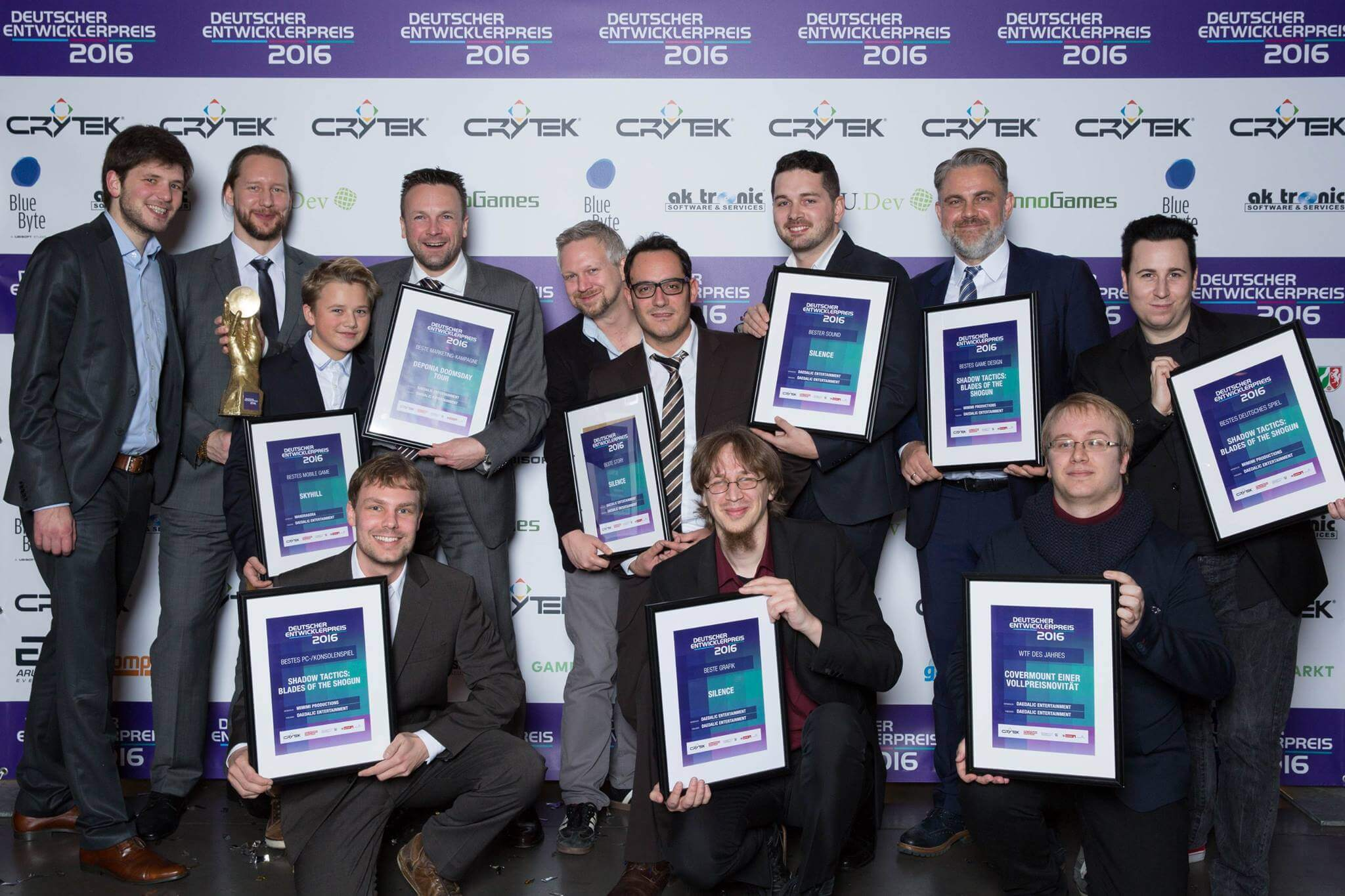 Grande successo di Daedelic Entertainment ai German Developer Awards