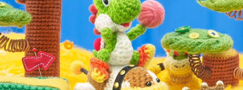 Poochy & Yoshi's Woolly World si mostra in un nuovo trailer