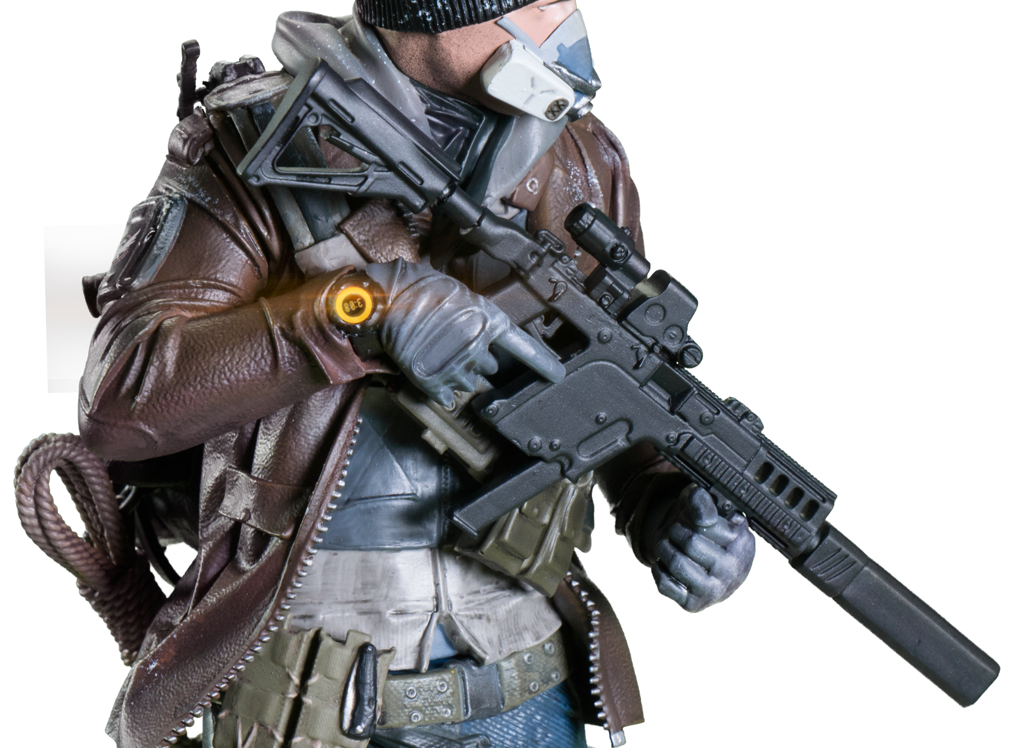 Ubisoft annuncia due nuove action figures per The Division e Ghost Recon Wildlands