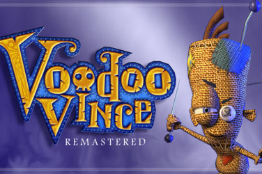Il logo di Voodoo Vince Remastered