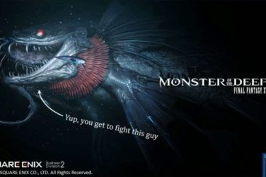 final-fantasy-xv Monster of the deep