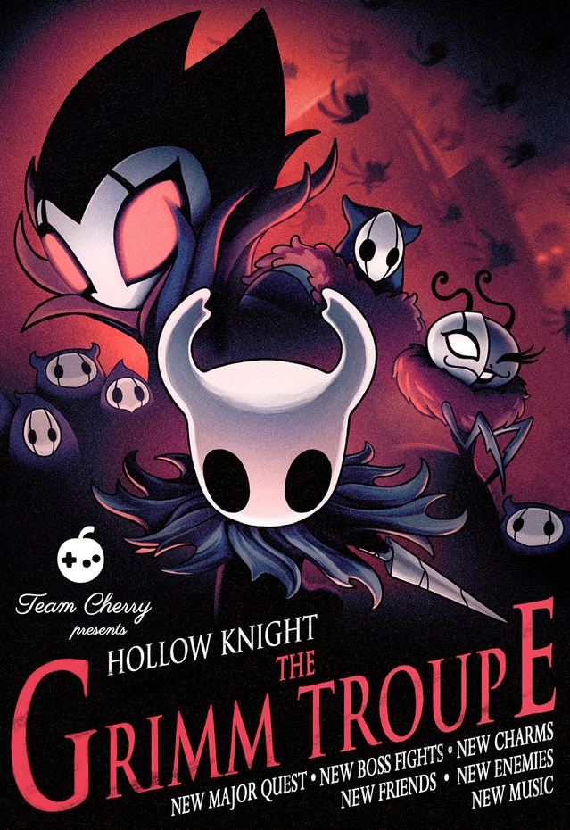 Hollow Knight: The Grimm Troupe sarà il nuovo DLC gratuito