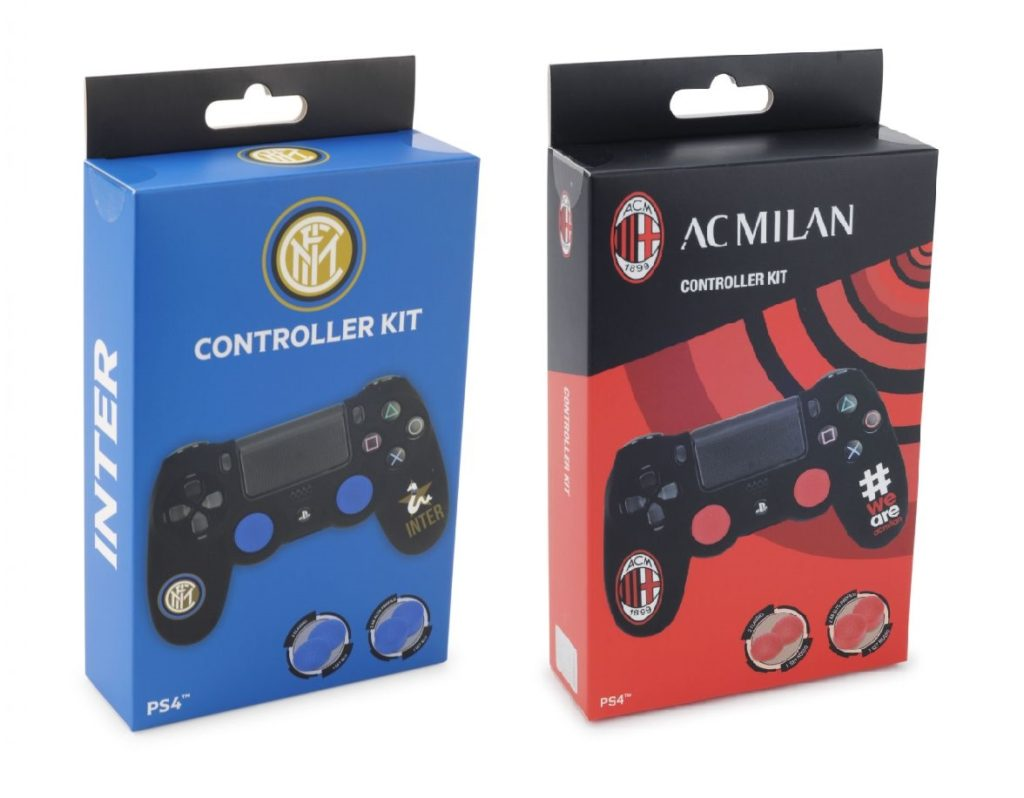 Cidiverte presenta i nuovi controller PlayStation 4 a tema Inter e Milan