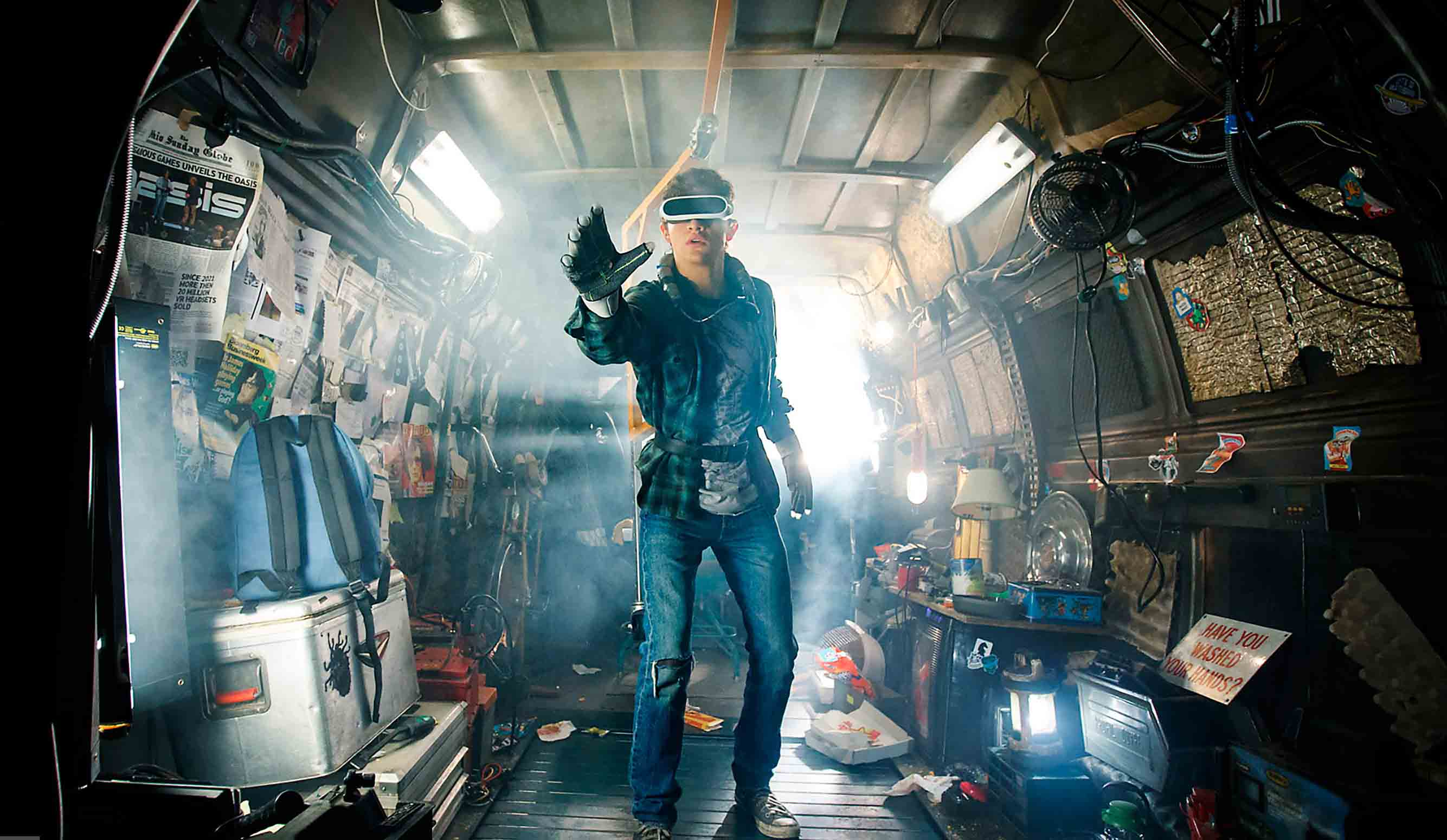 Online i motion poster di Ready Player One!