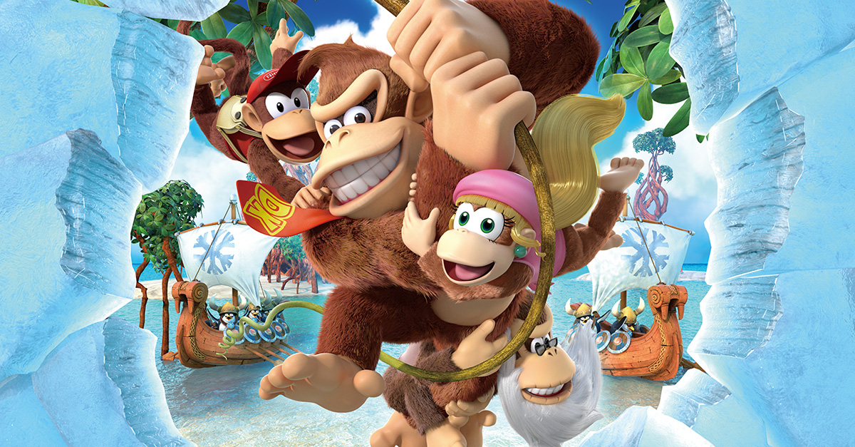 Donkey Kong Country Tropical Freeze: è tornato disponibile sul Wii U eShop