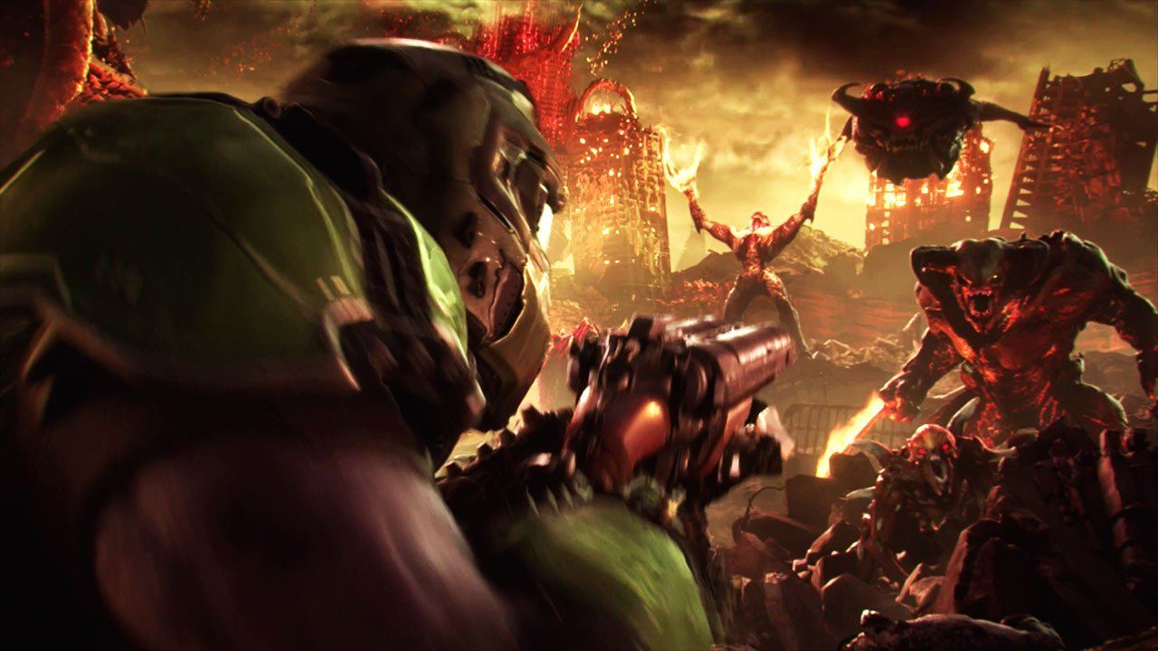 DOOM Eternal triplica il numero di giocatori del titolo su Steam