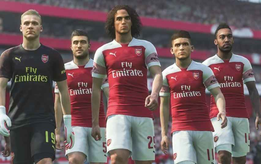 PES 2019: l'Arsenal è anche quest'anno Official Football Video Game Partner