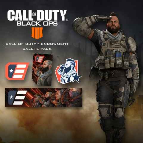 Call of duty: Black ops 4 salute Pack