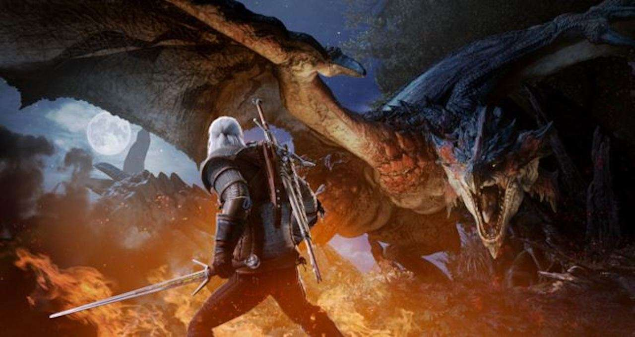 Monster Hunter World accoglie Geralt di Rivia con un nuovo trailer