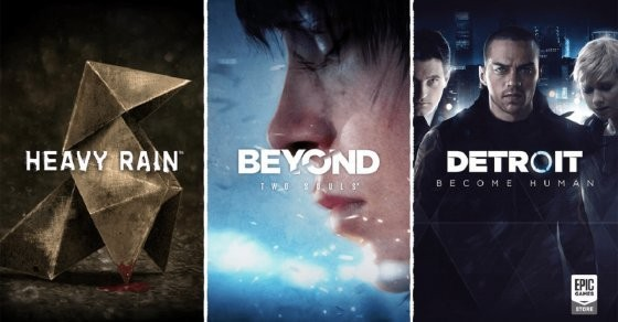Quantic Dream sbarca su Epic Games Store con Heavy Rain, Beyond e Detroit
