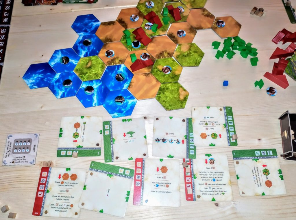 Tiles and Cards Ecos: First Continent