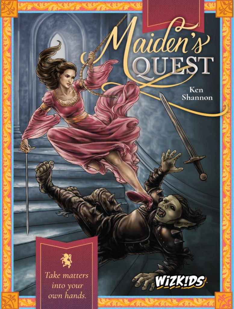 maidens quest cover