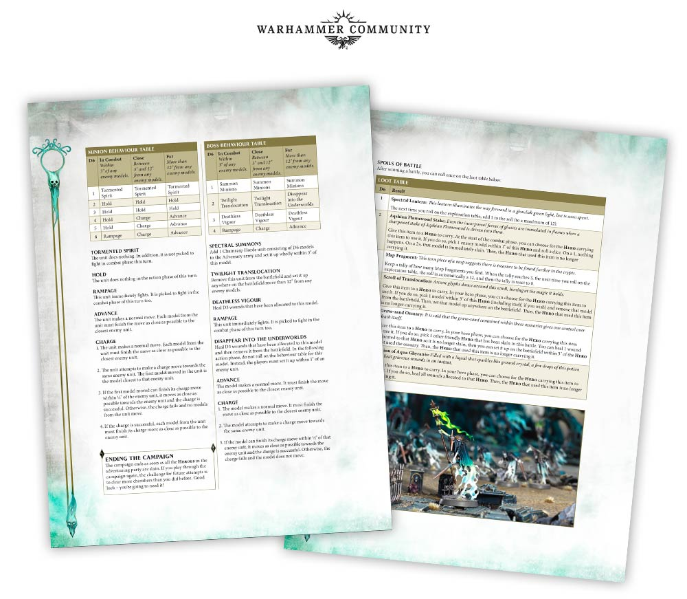 pdf Solo Warhammer: The Glymmsforge Catacombs
