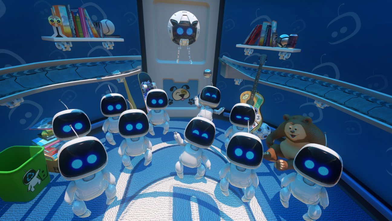 Astro's Playroom: mostrato il trailer all'evento PlayStation