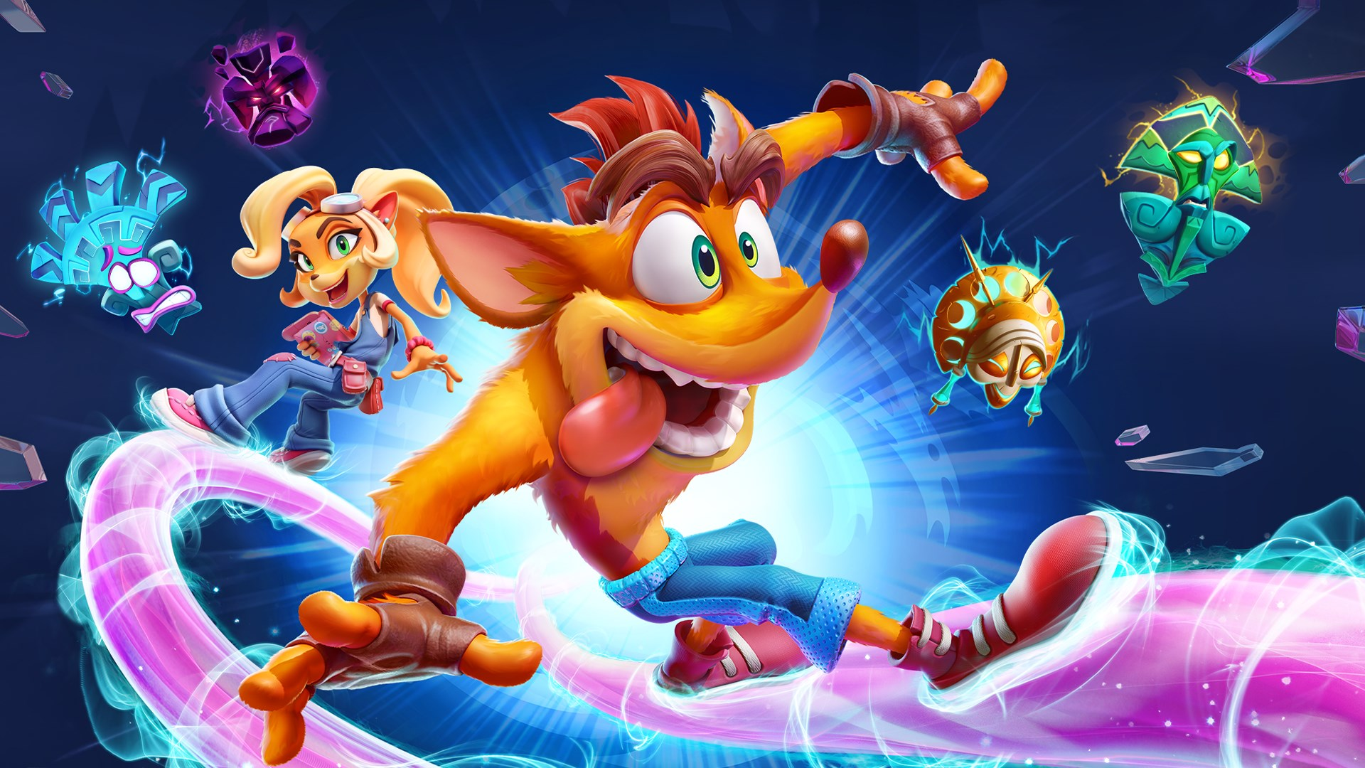 Crash Bandicoot 4: It's About Time, svelati i primi screenshot della versione Switch