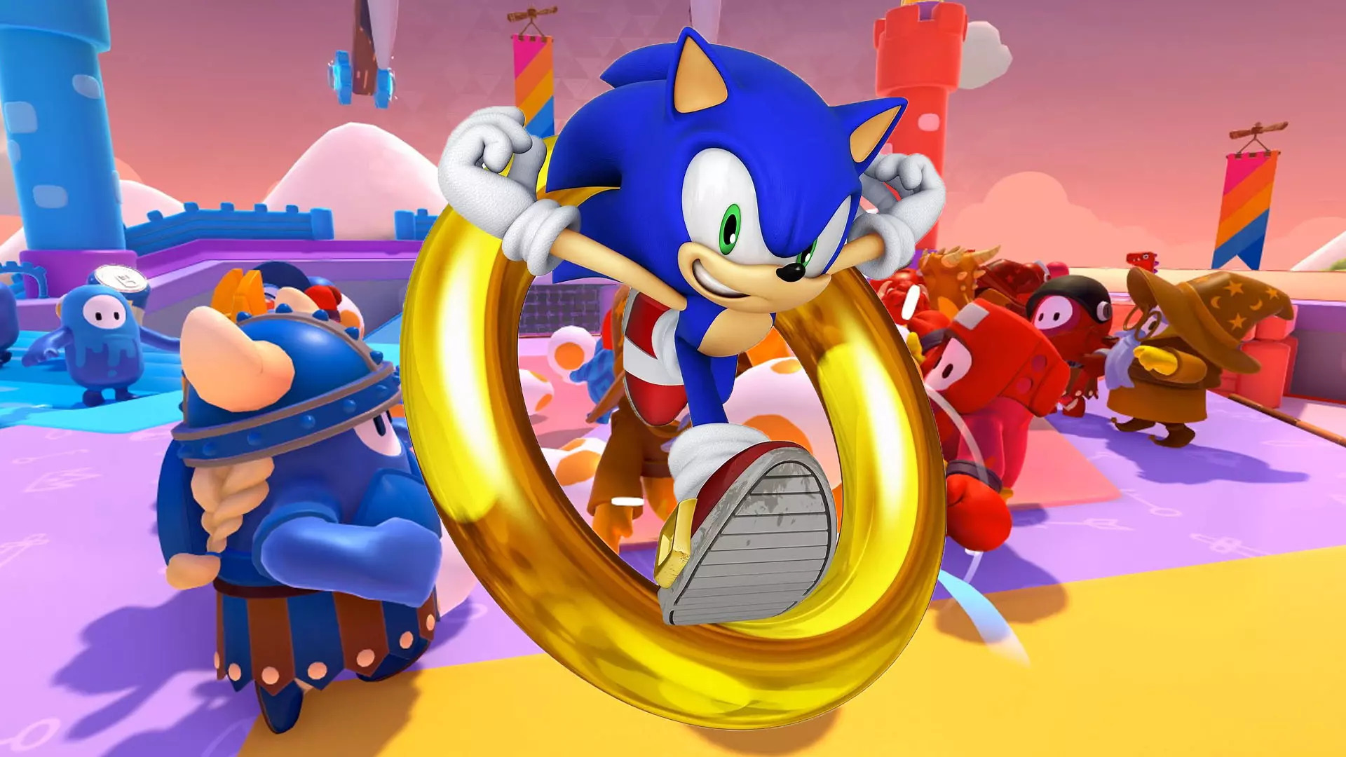 Fall Guys: Ultimate Knockout, in arrivo la skin di Sonic