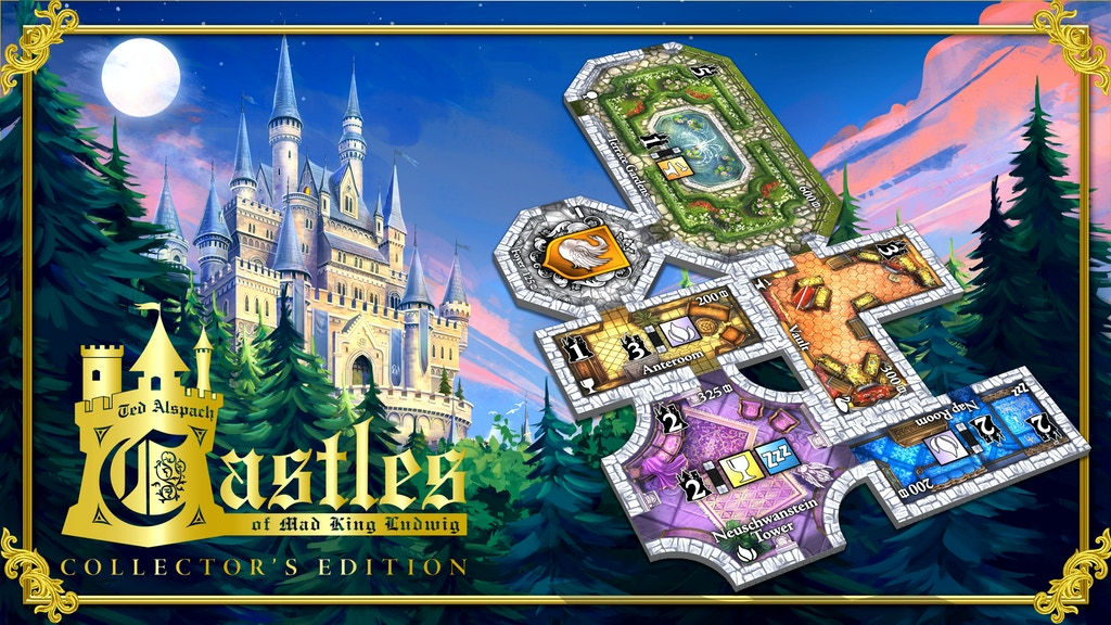 Castles of Mad King Ludwig: in arrivo la collector's edition