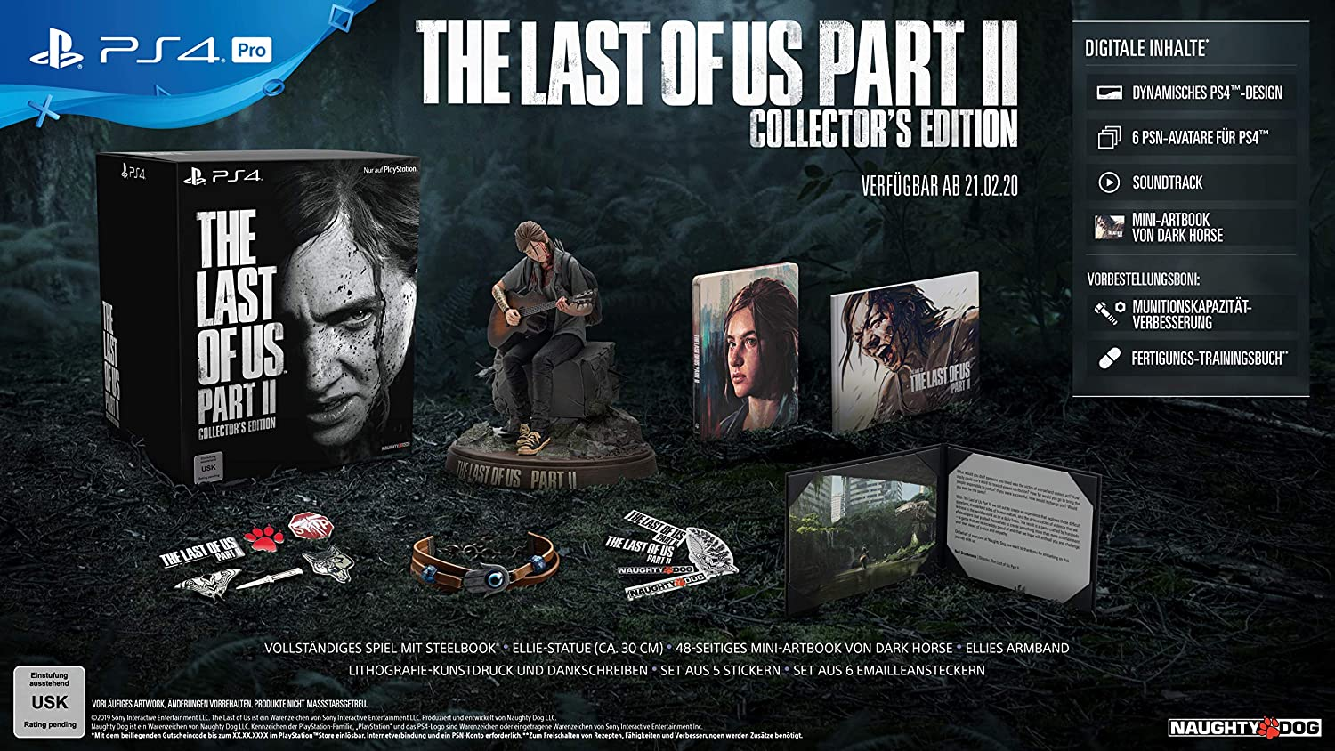 the last of us parte 2 collector's edition