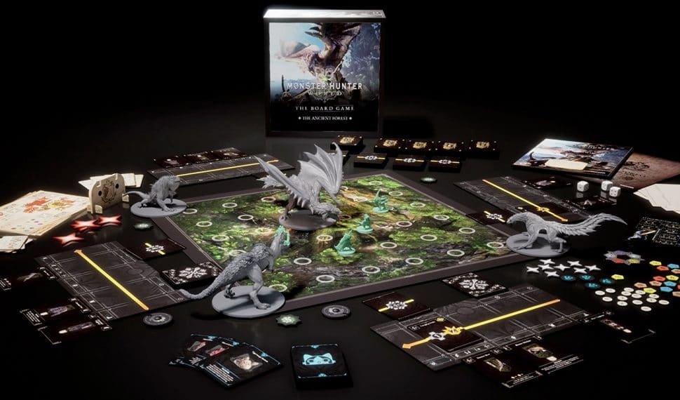 Monster Hunter World: The Board Game, inizia la campagna Kickstarter