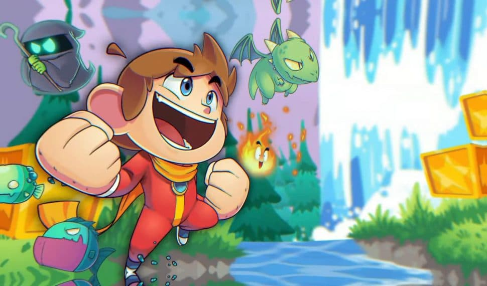 alex kidd in miracle world dx recensione