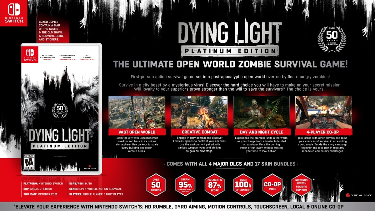 Dying Light switch